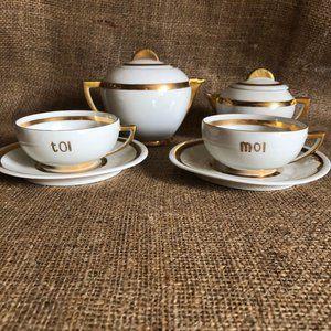 Vintage Tea - Coffee Porcelain Set